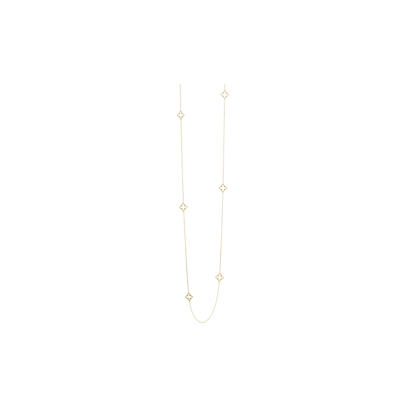 """Midas 36"""" Long & Lovely Eight Station Necklace"""