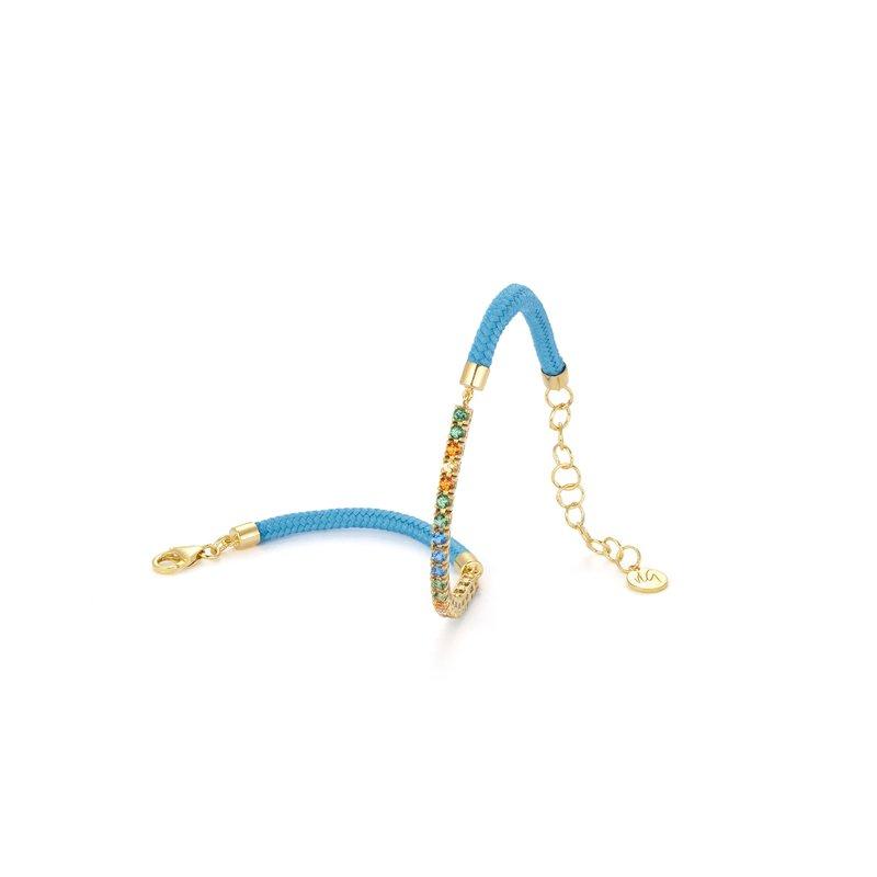 Vivalagioia Capri multi-color topaz bracelet