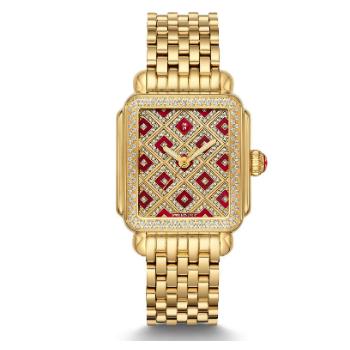 Deco Château Gold Diamond Watch