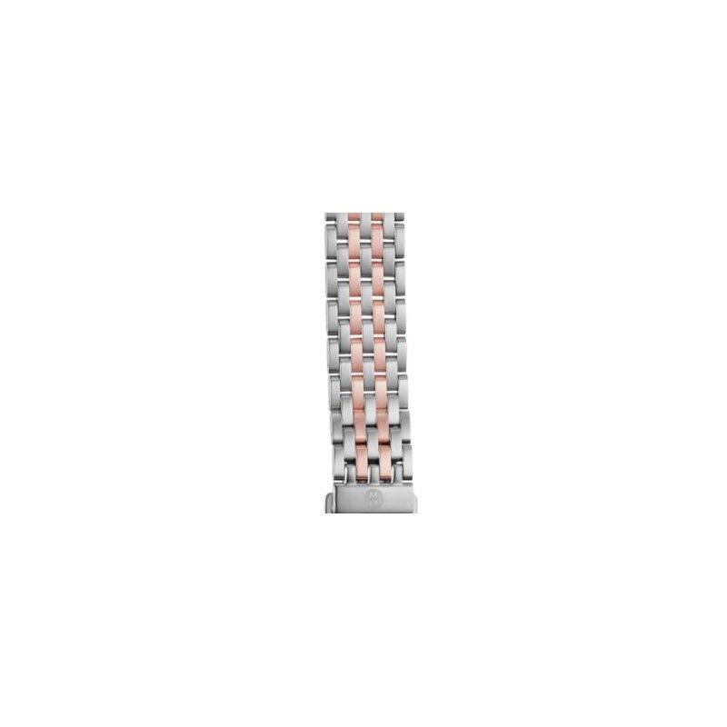 MICHELE Sidney Two Tone Rose & White Metal Bracelet