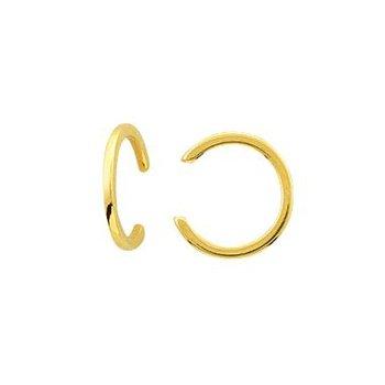 14K Yellow Gold High Polish Ear Cuff