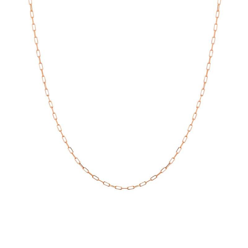 """Midas 20"""" Delicate Diamond Cut Forzentina Chain"""