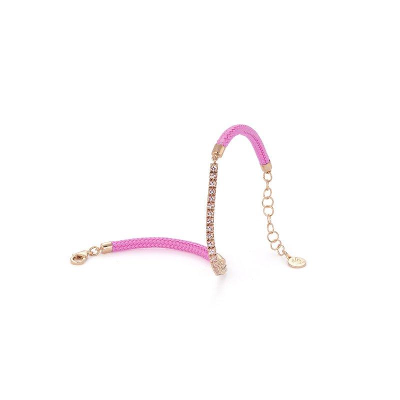Vivalagioia Capri Pink Topaz Bracelet