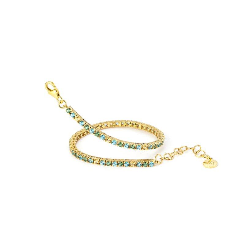 Vivalagioia Portofino Ocean Colored Topaz Bracelet