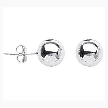 Sterling Silver 10mm Ball Post Earring