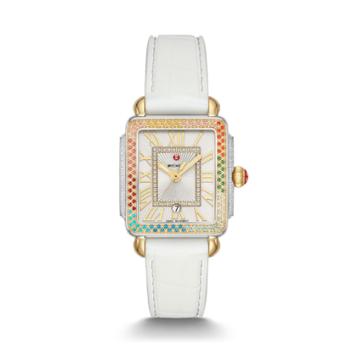 Deco Madison Mid Carousel Two-Tone Diamond Watch