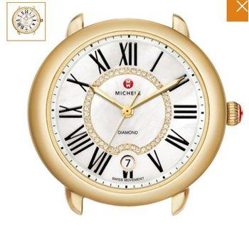 Serein Mid Two-Tone, Diamond Dial Timepiece