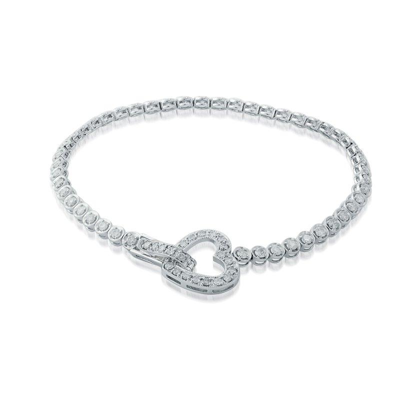 Collage Collection Diamond Tennis Bracelet