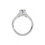 Ritani 14K White Gold Diamond Engagement Ring 1R2493