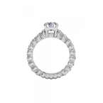 Ritani 14K White Gold Diamond Engagement Ring 1R1888