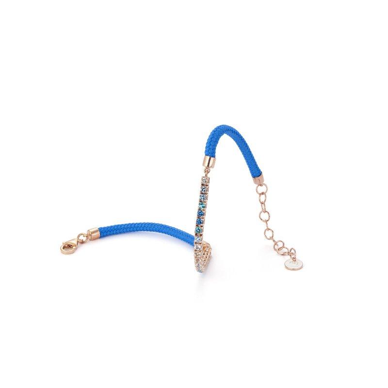 Vivalagioia Capri Shades of Blue Topaz Bracelet