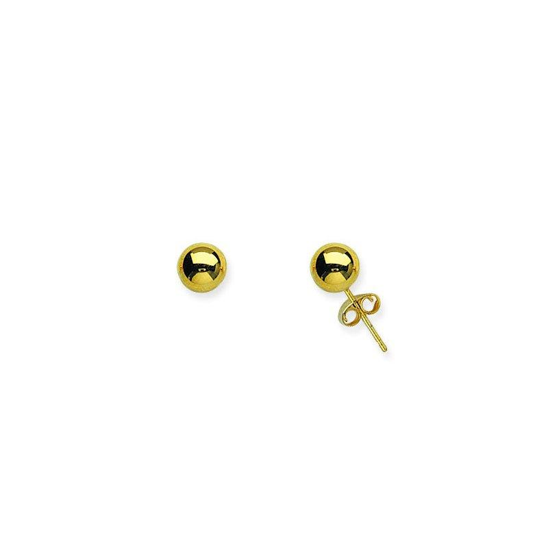 Midas 14K Yellow Gold Ball Post Earrings