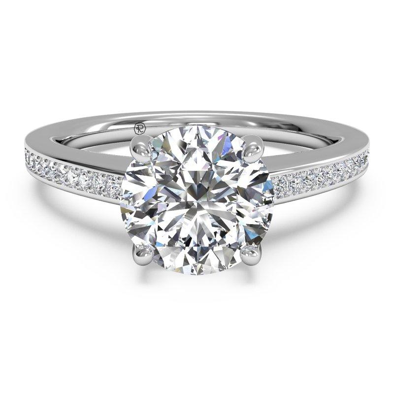 Ritani 14K White Gold Diamond Engagement Ring 1R1966