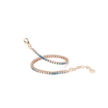 Portofino Shades of Blue Topaz Bracelet