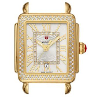18K Gold-Plated Deco Madison Mid