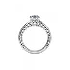 Ritani 14K White Gold Diamond Engagement Ring 1R4170