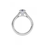 Ritani 14K White Gold Diamond Engagement Ring 1R2489