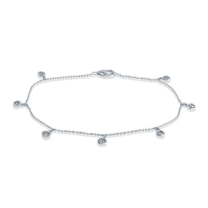 Collage Collection Diamond Dangle Bracelet