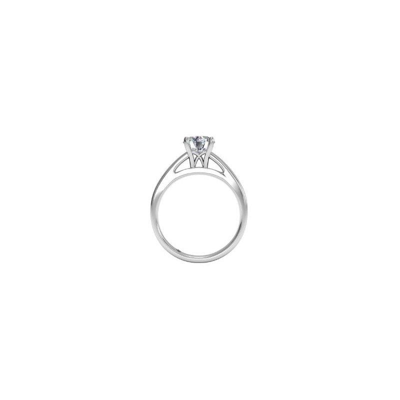 Ritani 14K White Gold Diamond Engagement Ring 1R7231