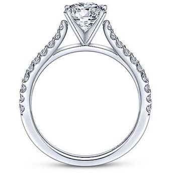 Shanna 14K White Gold Diamond Engagement Ring