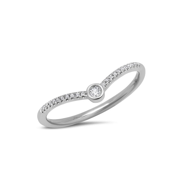 Shy Creation White Gold Diamond Ring