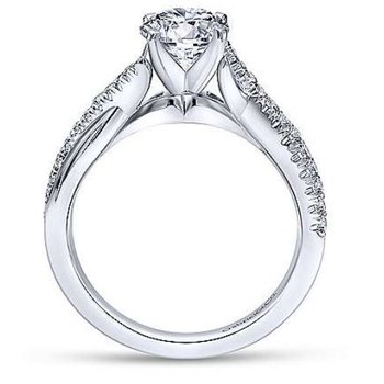 Scout 14K White Gold Diamond Engagement Ring