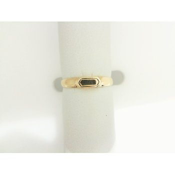 14K Yellow Gold Small Signet Ring