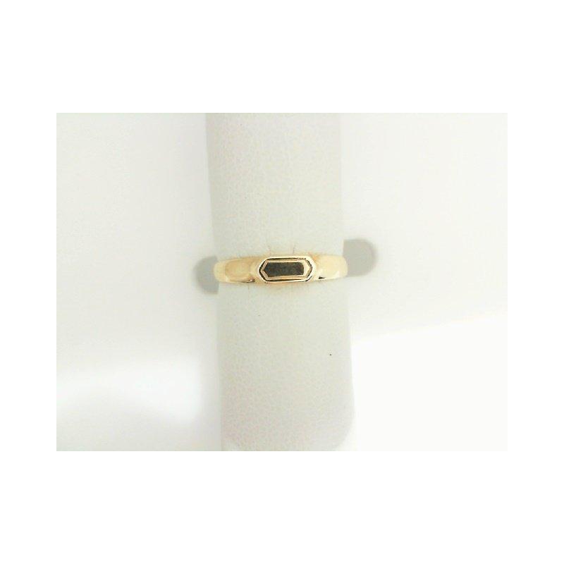Midas 14K Yellow Gold Small Signet Ring