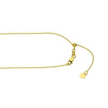 """22"""" Lovely Adjustable Cable Chain"""