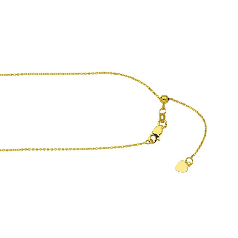 """Midas 22"""" Lovely Adjustable Cable Chain"""