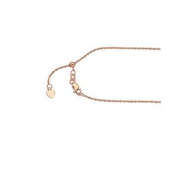 """22"""" Stunning Adjustable Sparkle Chain"""