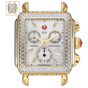 Deco Gold Diamond, Diamond Dial Watch