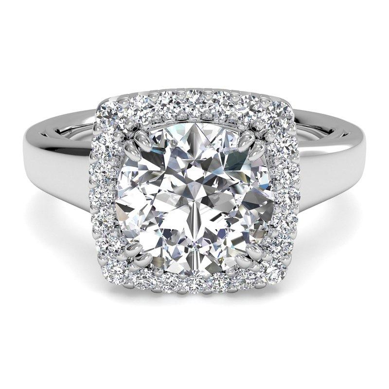 Ritani 14K White Gold Diamond Engagement Ring 1R3780