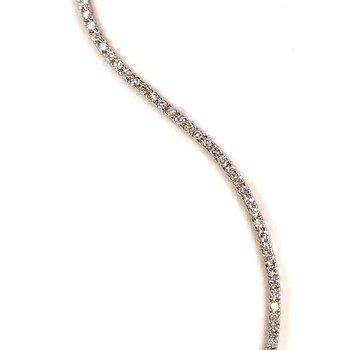 14k W 1.50TWT Diamond Bracelet