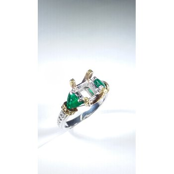 emerald semi mount