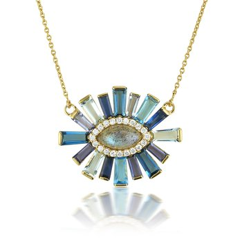 Gemstone Luminous Necklace