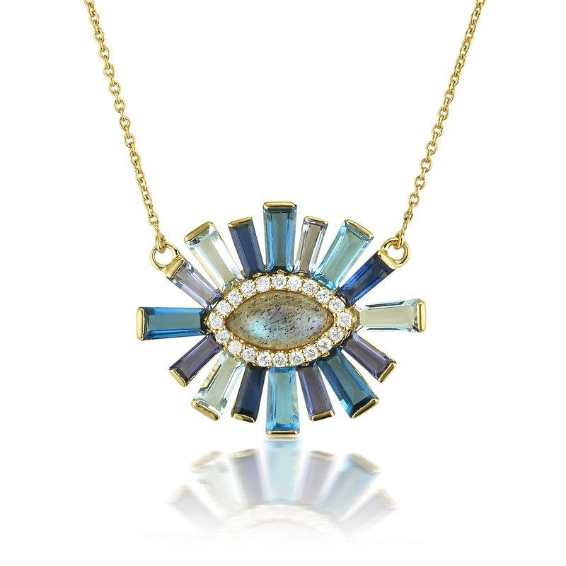 Curated Color Gemstone Luminous Necklace