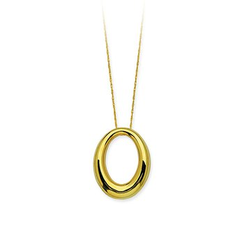14 Karat Oval Necklace