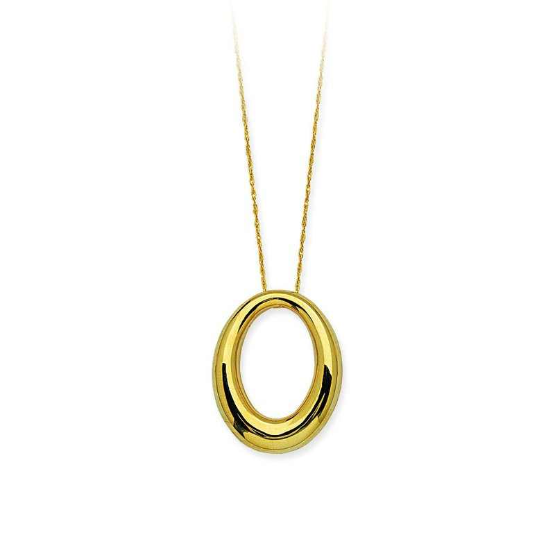 Studio Fine 14 Karat Oval Necklace