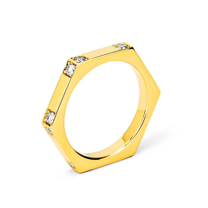 7 Mile Fine Hexagon Ring