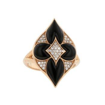 14 Karat Onyx Lumiere Ring