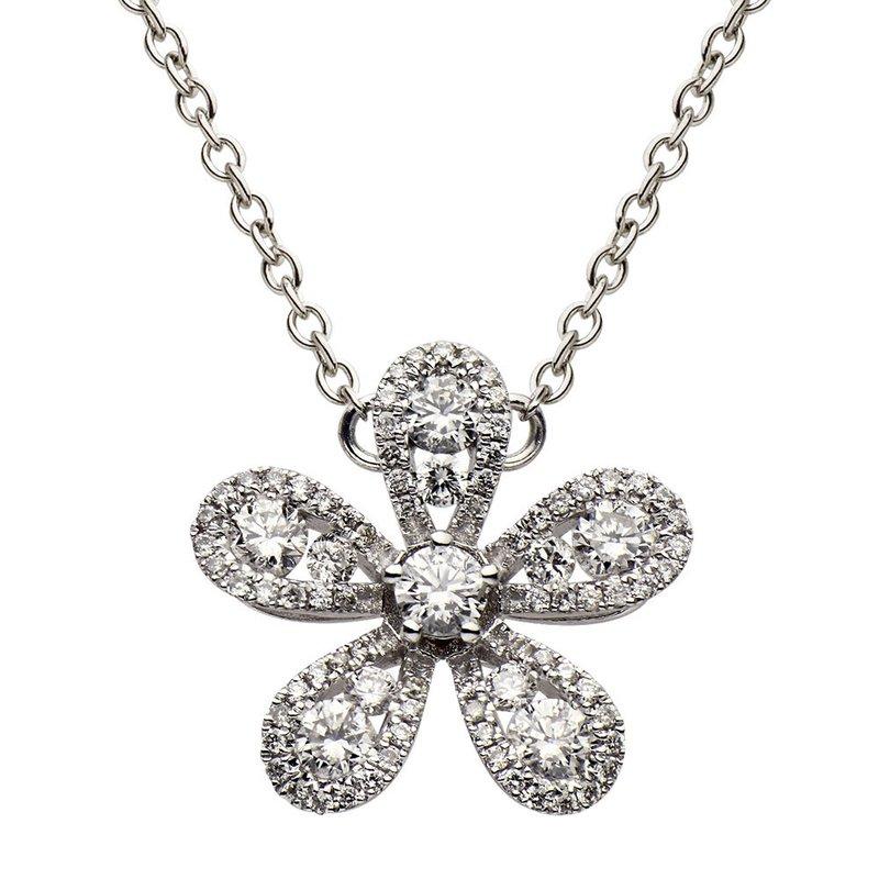 7 Mile Fine Daisy Diamond Pendant