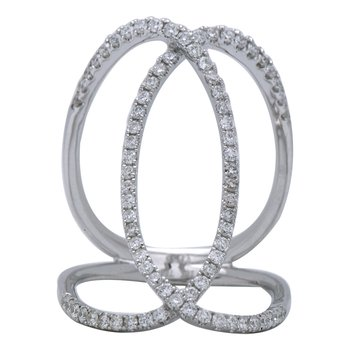 Galla Diamond Open Ring