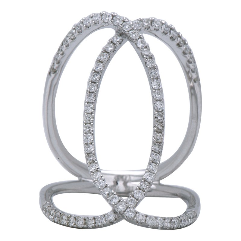 Studio Fine Galla Diamond Open Ring