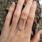 Studio Fine Galla Diamond Open Ring
