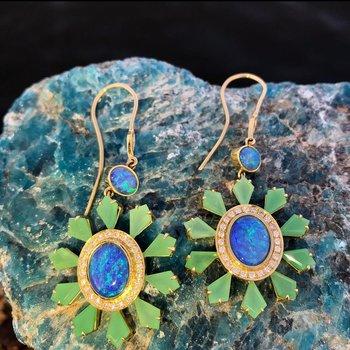 Kite Drop Earrings