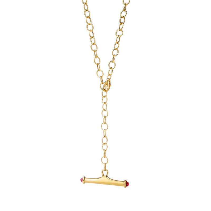 7 Mile Fine Chic Link Toggle Necklace