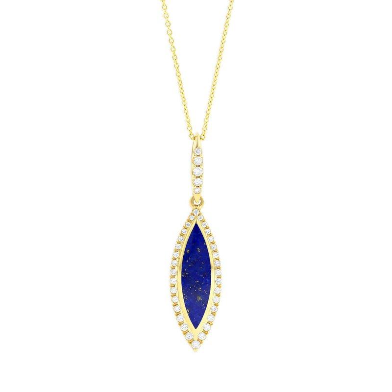 Studio Fine 14 Karat Lapis Classic Necklace