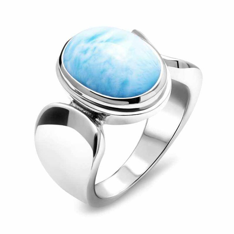 Studio Silver Caressa Larimar Ring