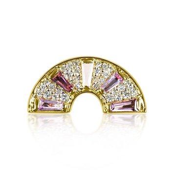 Pink Rainbow Ring